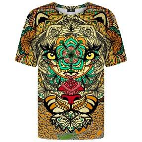 Tričko s krátkym rukávom Znamenie zverokruhu Lev