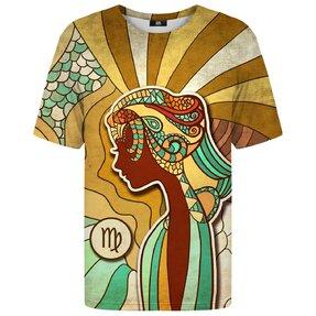 Tričko s krátkym rukávom Znamenie zverokruhu Panna