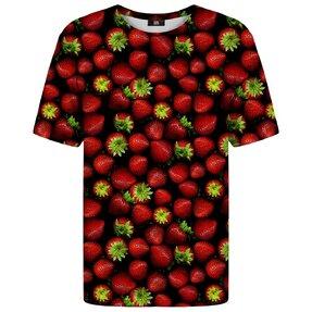 Tričko s krátkym rukávom Zrelé jahody