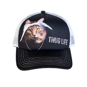 Șapcă cu plasă Pisica Tupac
