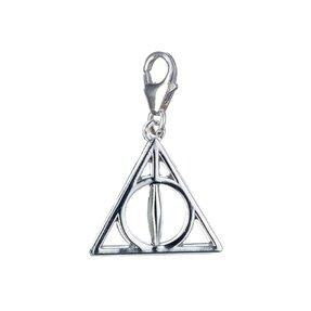 Visiaci strieborný prívesok Harry Potter Dary smrti