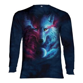 Tričko s dlhým rukávom Nebeský vlk