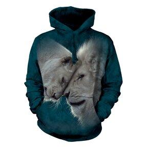 Mikina s kapucí Lví láska