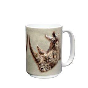 Originálny hrnček s motívom Profil nosorožca