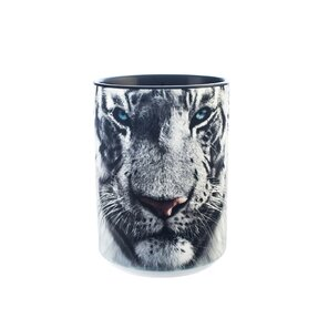 Cană originală cu motivul Tigrul alb