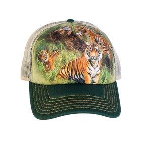 Šiltovka so sieťkou Päť tigrov