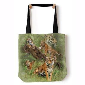 Tote taška na rameno Päť tigrov