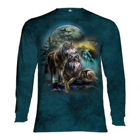 Tričko s dlouhým rukávem Procházka vlků