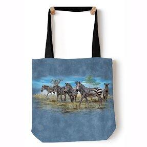 Tote taška na rameno Zebry