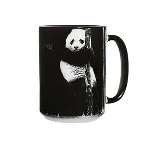 Kerámia bögre Panda Protect