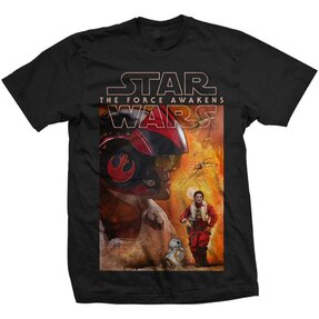 Tricou Star Wars Episode VII Dameron Composition