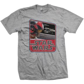 Tricou Star Wars Episode VII Dameron Vintage