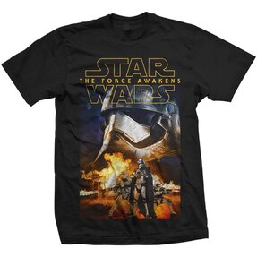 Tricou Star Wars Episode VII Phasma & Troopers