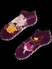 Ankle Socks Red Wine