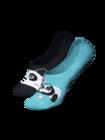 Živahne skrite nizke nogavice Panda