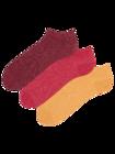 3er-Pack Knöchelsocken aus recycelter Baumwolle Extrovertiert