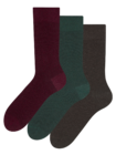 Recycled Cotton Socks 3-pack Gentleman