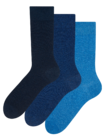 Recycled Cotton Socks 3-pack Idealist