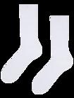 Bílé bambusové ponožky Komfort
