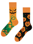 Regular Socks Halloween Pumpkin
