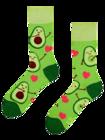 Calcetines alegres Amor por los aguacates