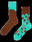 Vidám zokni Csokoládé