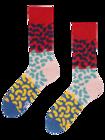 Vrolijke sokken Kleurrijke boontjes