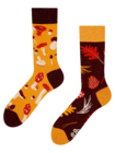Vesele čarape Gljive