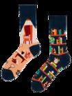 Lustige Socken Bibliothek