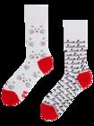 Vrolijke sokken Kattenliefde