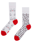Živahne nogavice Mačja ljubezen