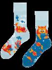 Vrolijke sokken - Katten & vissen