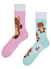 Lustige Socken Teddybär