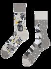 Lustige Socken - Waschbär