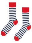 Regular Socks Navy Stripes