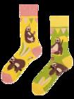 Lustige Socken - Party-Faultier