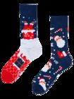 Lustige Socken Santa