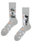 Regular Socks Wedding Cats