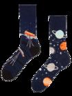 Veselé ponožky Vesmír