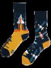 Șosete Vesele Rachetă Spațială