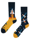 Lustige Socken Kosmische Rakete