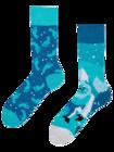 Lustige Socken Yeti