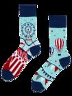 Vrolijk sokken Pretpark