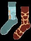 Весели чорапи Жираф