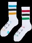 Calcetines deportivos alegres Juegos olímpicos