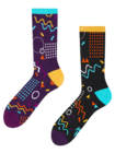 Sport Socks Retro Geometry