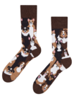 Živahne nogavice Kužki