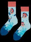 Regular Socks Funny Blowfish