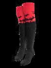 Chaussettes hautes rigolotes au-dessus des genoux Chauve-souris