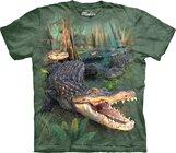 Tričko Zuřivý krokodýl